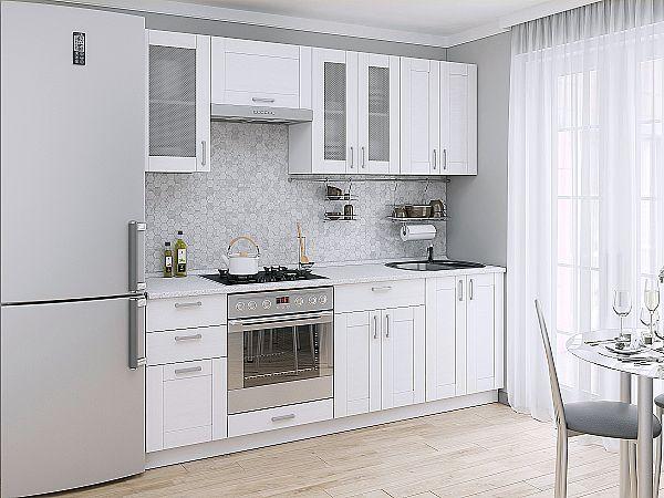 Кухня Лофт 01 Snow Veralinga